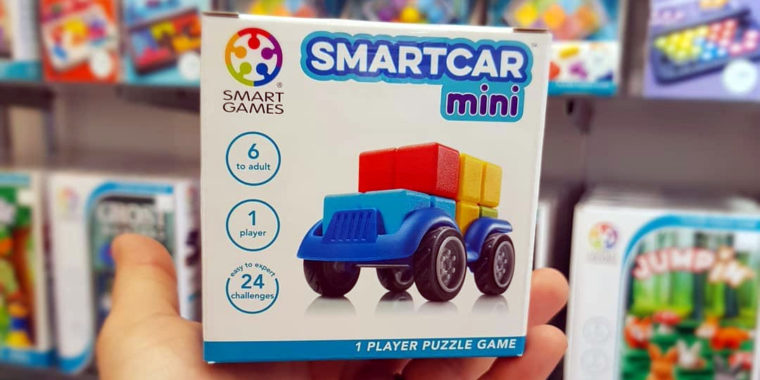 Buy 2 SmartGames get a FREE SmartCar Mini