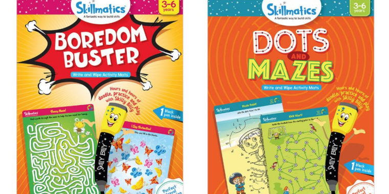 Buy 2 SmartGames get a FREE Skillmatics Product