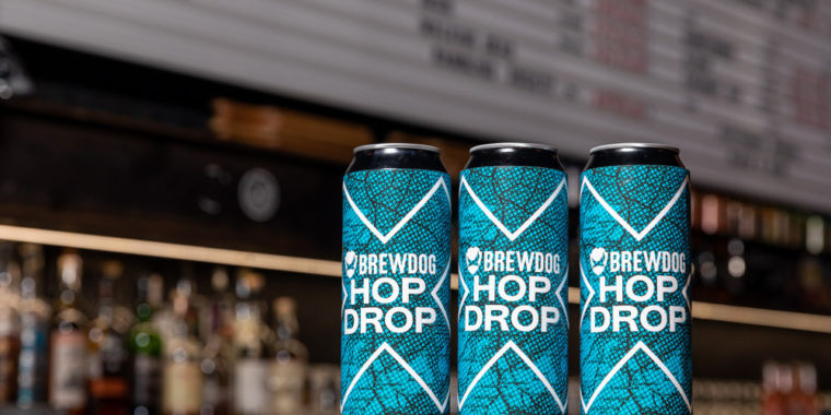 Discounts via BrewDog Hop Drop App