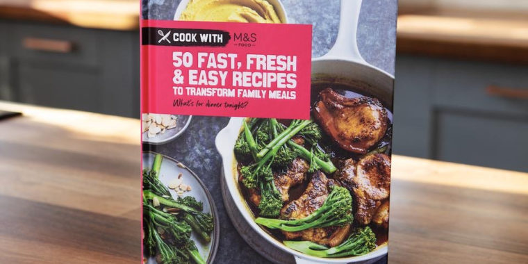 M&S launches speedy recipe cookbook for £5
