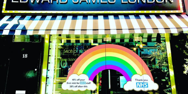 40% off First Haircut for NHS Staff