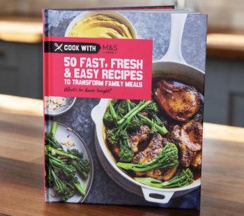 M&S launches speedy recipe cookbook for £5
