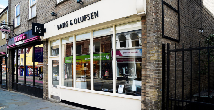 £5 off your parking at Bang & Olufsen Shopping