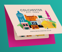 The Colchester Gift Card! 24 Jun