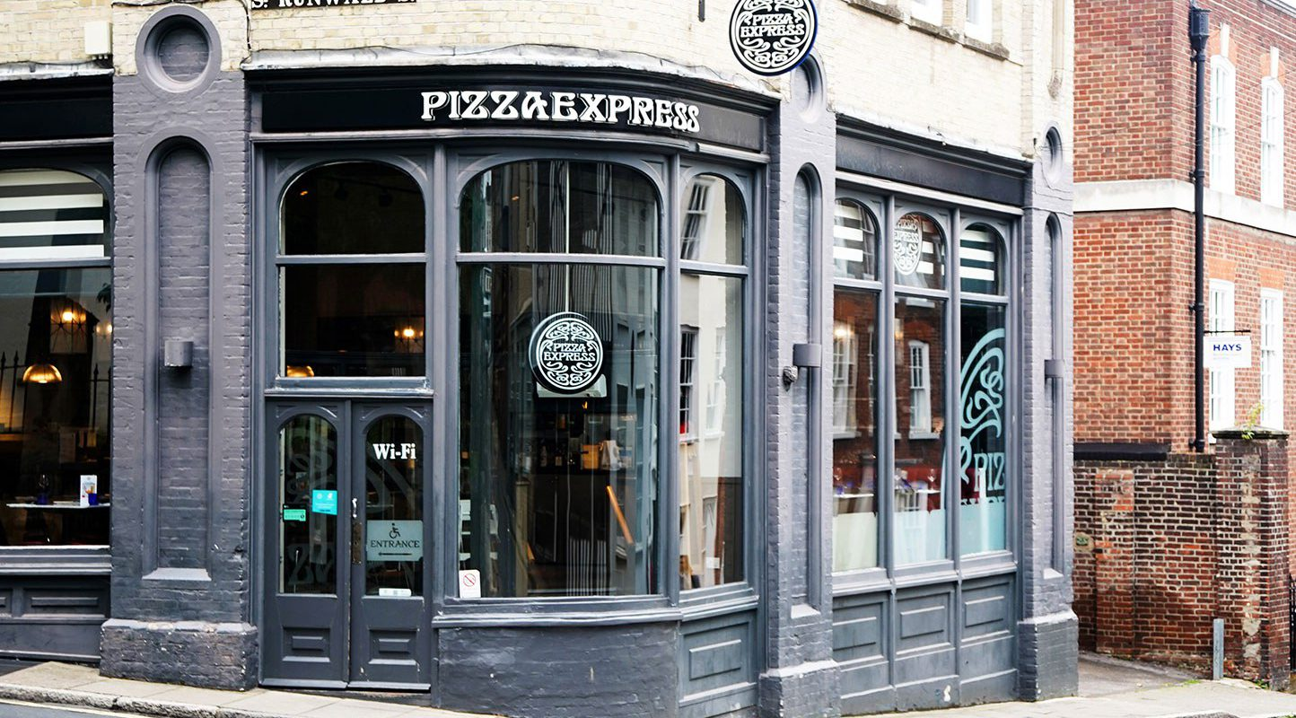 Pizza Express In Colchester