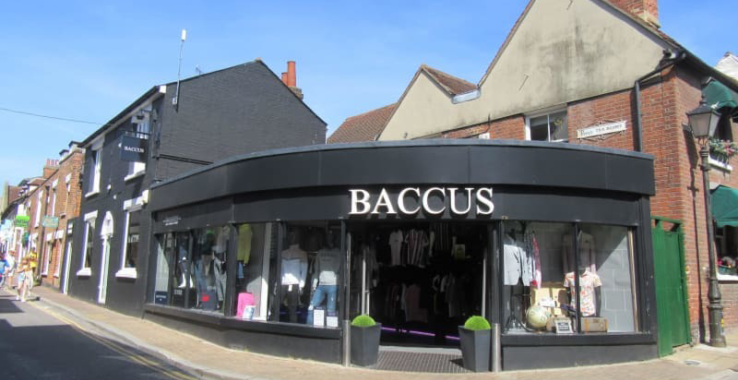 £5 off your parking at Baccus at Baccus