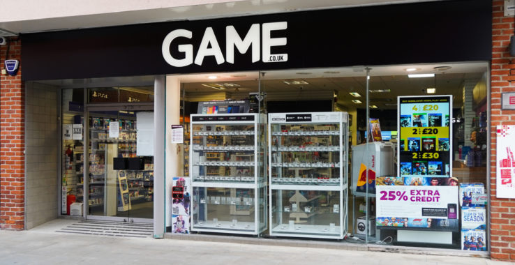 Game Store Shopping