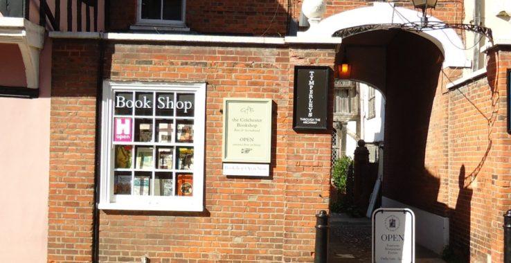 GFB, the Colchester Bookshop Shopping