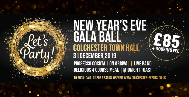 New Year's Eve Gala Ball Colchester Town Hall