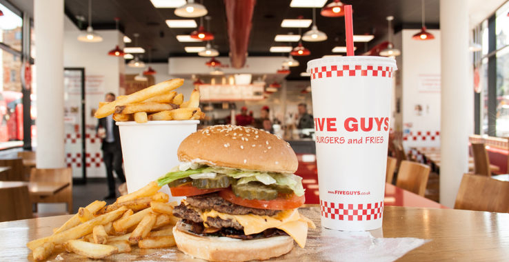 Five Guys Eat & Drink