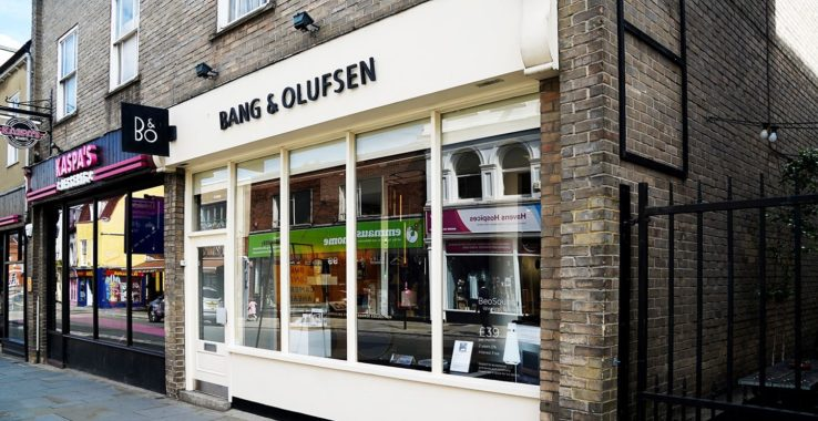 Bang and Olufsen Shopping