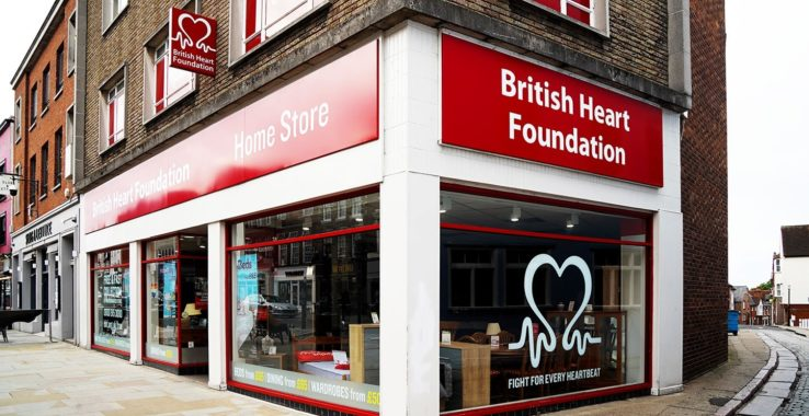 British Heart Foundation High Street Shopping