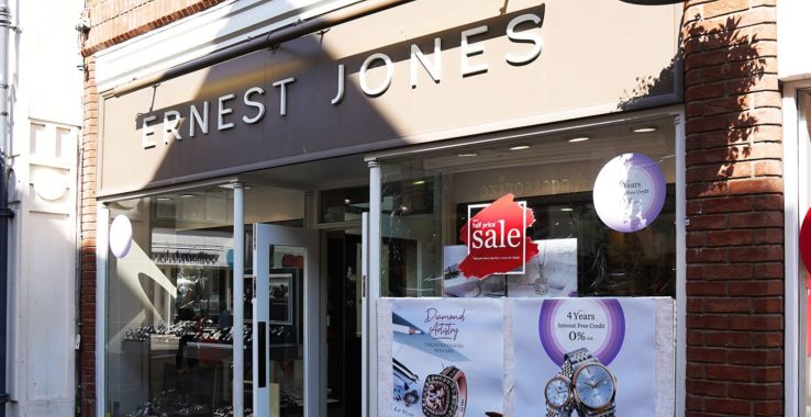 Ernest Jones Shopping