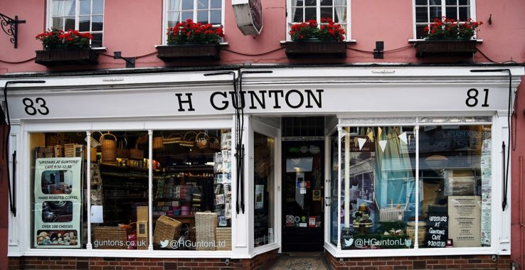 H Gunton Shopping