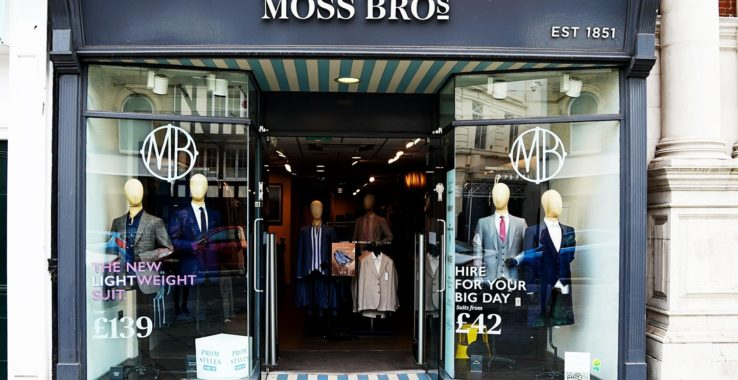 Moss Bros Shopping