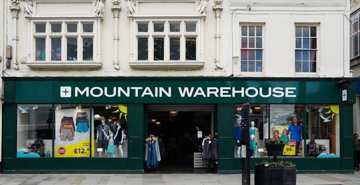Mountain Warehouse Shopping