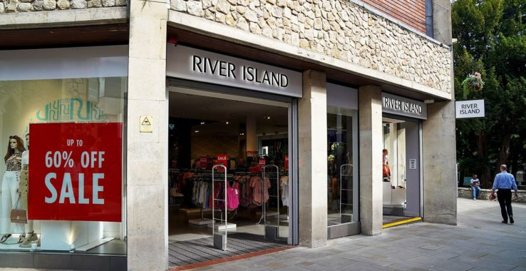 River Island Shopping
