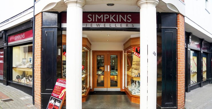 Simpkins Jewellers Shopping