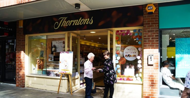 Thorntons Shopping