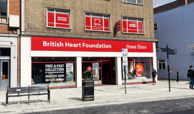 British Heart Foundation High Street Shopping