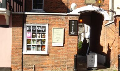 GFB, the Colchester Bookshop Shopping