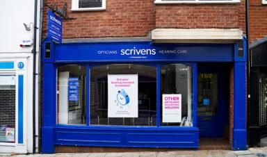 Scrivens Opticians Professional Services