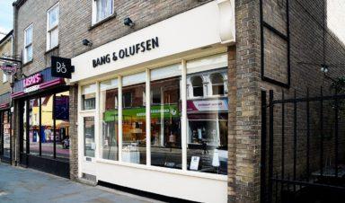 Bang and Olufsen Shopping