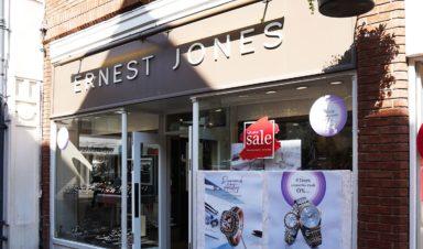 Ernest Jones Shopping
