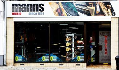 Manns Music Shopping