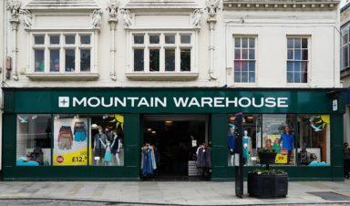 Mountain Warehouse Shopping