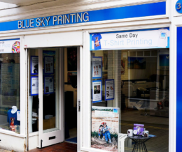 £2 off your parking with Blue Sky Printing at Blue Sky Printing