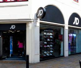 JD Sports Shopping