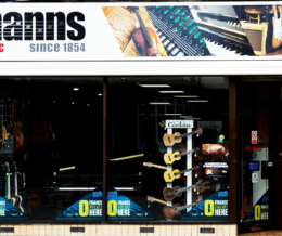 £5 off your parking at Manns Music Shopping