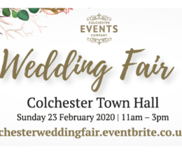 WEDDING FAIR – COLCHESTER TOWN HALL Colchester Town Hall