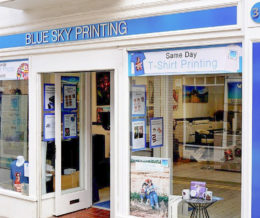 Blue Sky Printing Professional Services