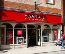 H. Samuel Shopping