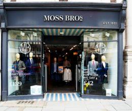 Moss Bros Shopping