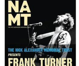 FRANK TURNER ACOUSTIC NAMT SHOW Colchester Arts Centre
