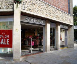 River Island Shopping