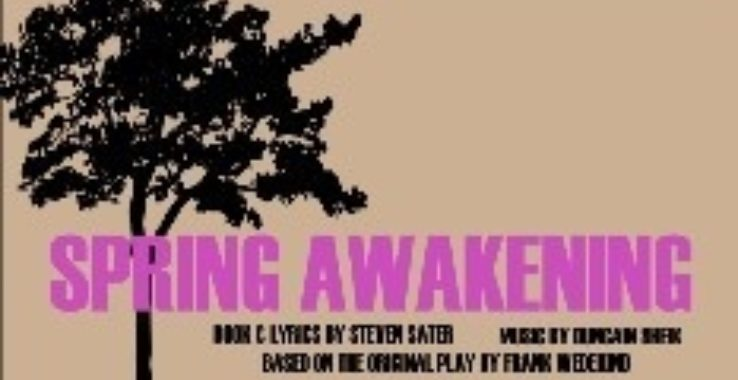 Spring Awakening - Music (Thursday) Headgate Theatre