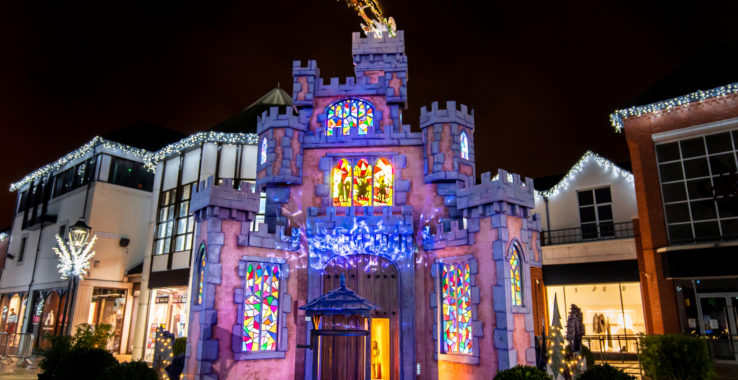 Culver Squares Christmas Castle Culver Square