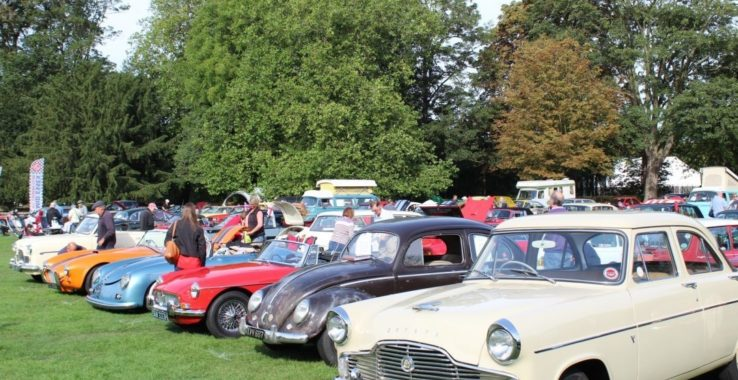 Headway Essex Classic Vehicle Show Castle Park Gardens