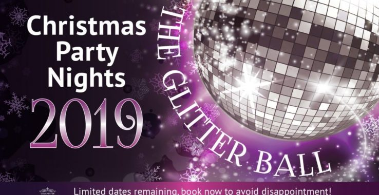 The Glitter Ball Christmas Party Night Colchester Town Hall