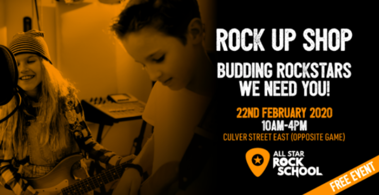 Rock Up Shop With All Star Rock School Culver Street East