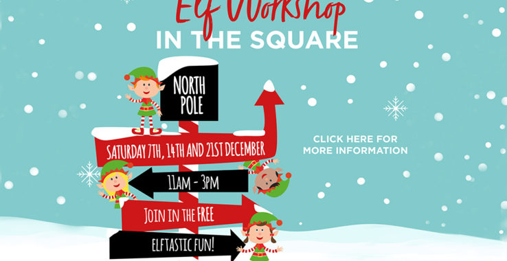 Elf Workshop in the Square Culver Square