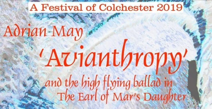 'AVIANTHROPY' and the High Flying Ballad in The Earl of Mar's Daughter. FirstSite