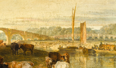 A Turner At The Castle Colchester Castle