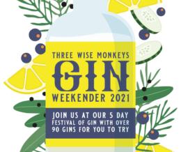 Gin Weekender Three Wise Monkeys