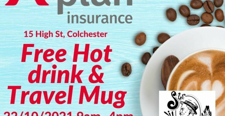 Free Sir Isaacs Coffee from A Plan Insurance! at A-Plan Insurance
