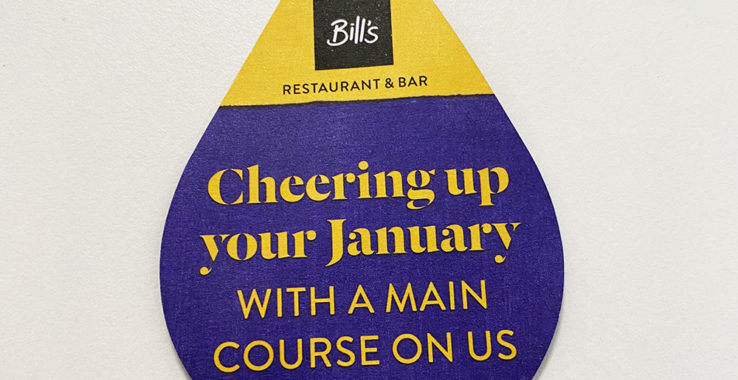 Cheering up your January at Bill's